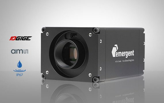 10GigE HR camera with AMS Sensor