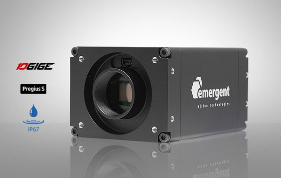 10GigE camera with Sony Pregius S sensor