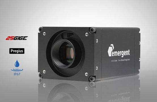 Figure 1: Emergent Vision Technologies offers several camera models with third-generation Sony Pregius image sensors.
